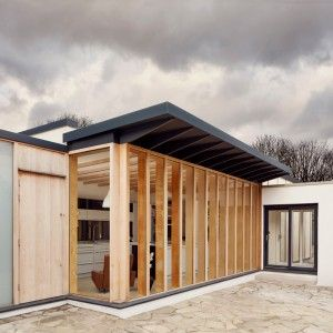 Tdo Adds Boxy Plywood Framed Extension To Old Windsor