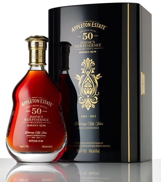 Appleton Estate 50 Year Old Jamaica Independence Reserve is believed to be the world's oldest rum