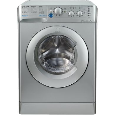 Indesit BWC61452SUK Innex 6kg 1400rpm Freestanding Washing Machine Silver