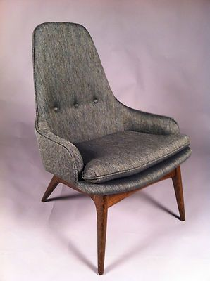 Refurbished Adrian Pearsall Lounge Chair