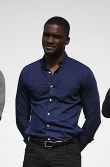 Sam Okyere. He's from Ghana and is a TV presenter in Korea.