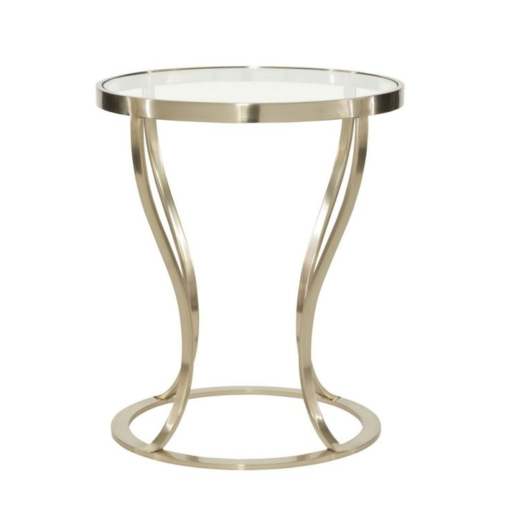 Best 25 Round metal side table ideas on Pinterest Gold glass