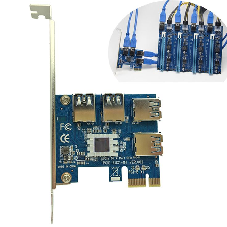 4 Slots PCI-E 1 To 4 PCI Express 16X Slot External Riser Card Adapter Board PCIE Multiplier Card For BTC Miner -  Check Best Price for 4 Slots PCI-E 1 to 4 PCI Express 16X Slot External Riser Card Adapter Board PCIE Multiplier Card for BTC Miner. This Online shop give you the discount of finest and low cost which integrated super save shipping for 4 Slots PCI-E 1 to 4 PCI Express 16X Slot External Riser Card Adapter Board PCIE Multiplier Card for BTC Miner or any product promotions.  I think…