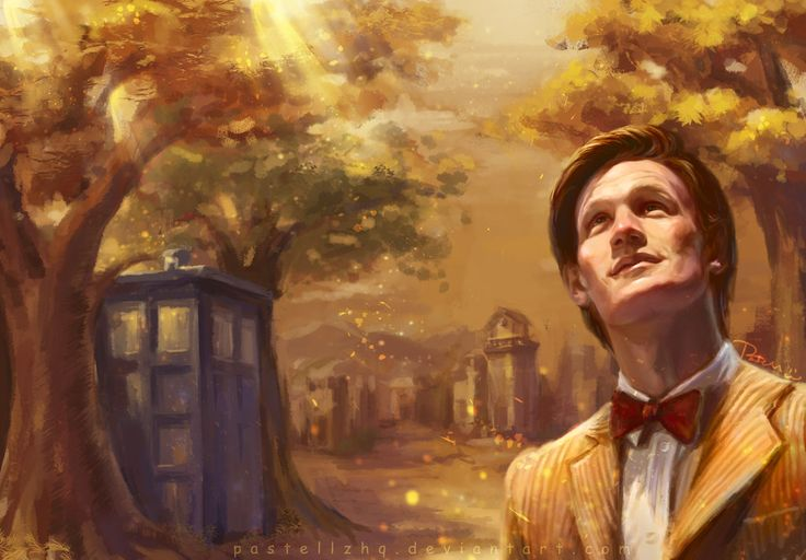 The 11th Doctor by pastellZHQ