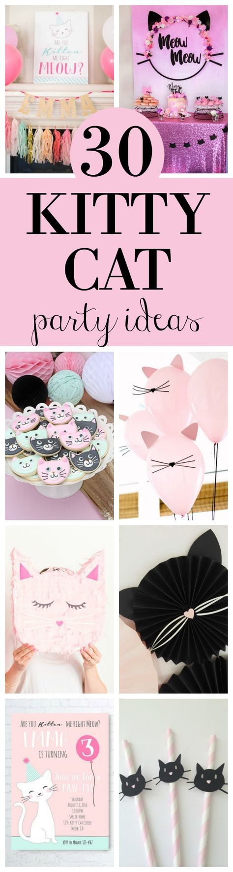 30 Cute Birthday Party Ideas featured on Pretty My l