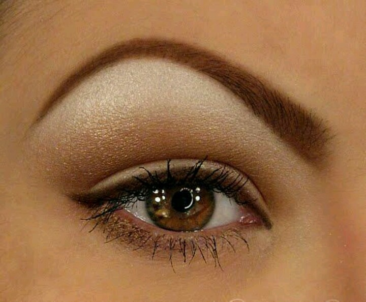 Arched eyebrows Simple eye makeup Daytime makeup Best