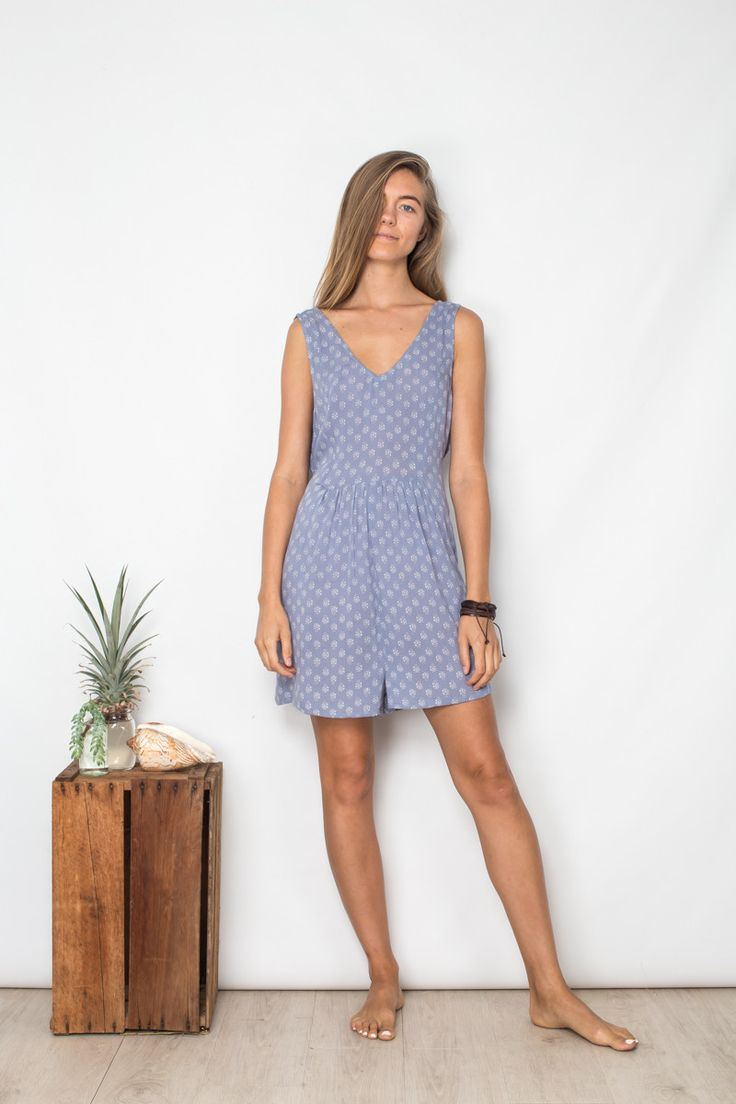 Stepwell Playsuit