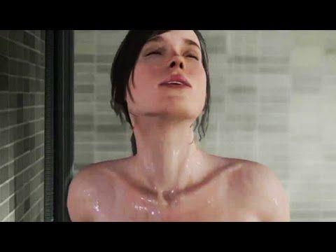 Beyond Two Souls Shower Scene Debug