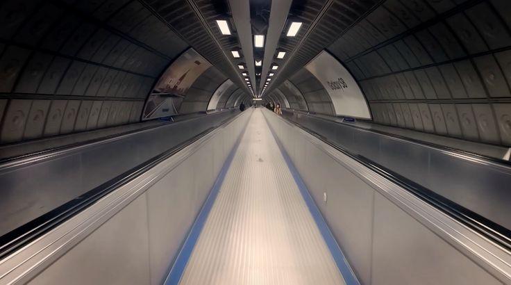 Mesmerizing Underground Tunnels in London – Fubiz Media
