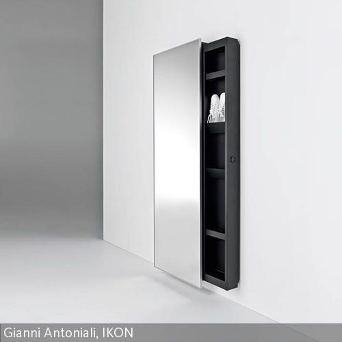 Das Konzept eines Wandspiegels entwickelt sich und wird durch neue Features ergänzt. Ein fester und sicherer Spiegel versteckt hinter sich eine …