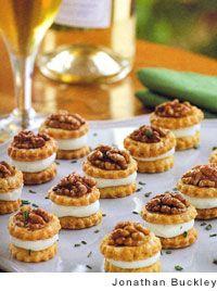 Roquefort and Walnut Shortbreads Recipe