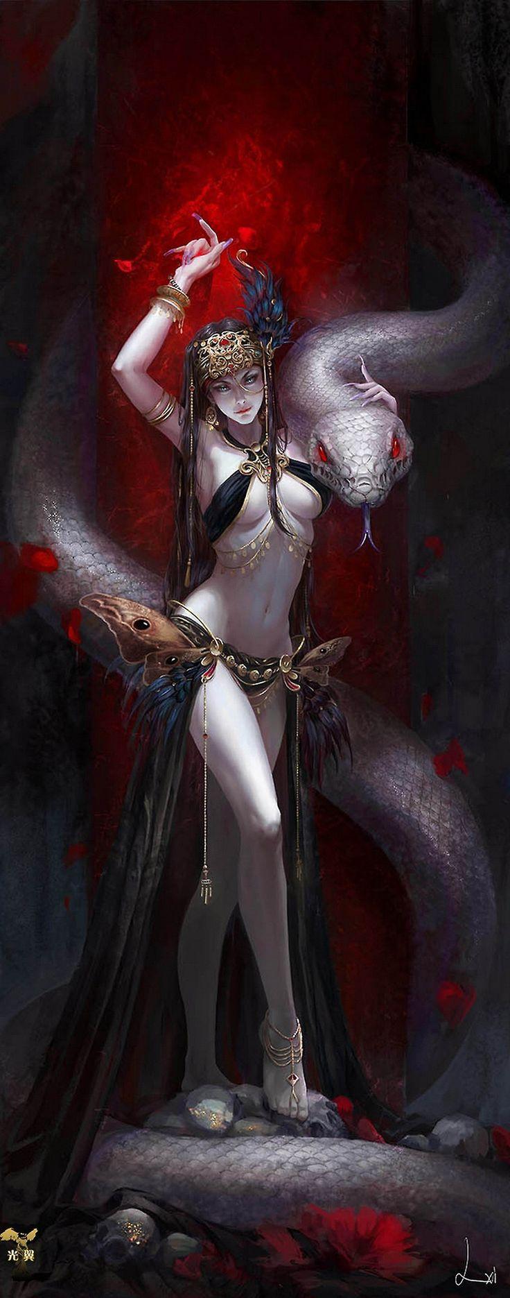 Fantasy art  - Page 24 163c98de10bdce71f791a015d68d09e2