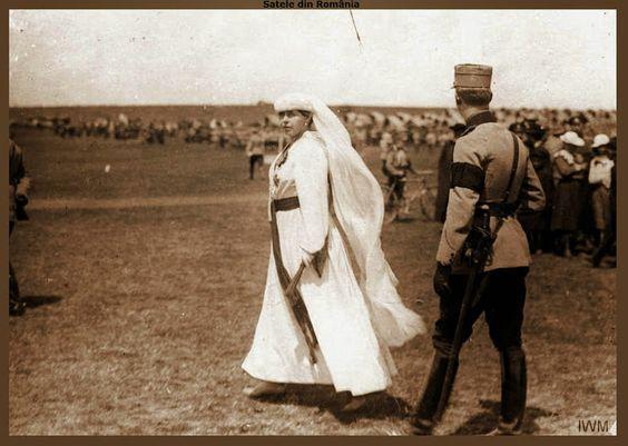 Regele Ferdinand şi Regina Maria, Iaşi 1917.