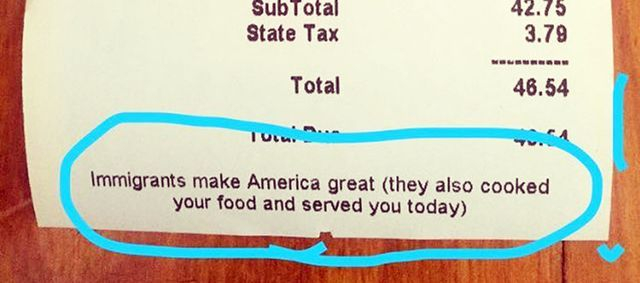 This Brooklyn Restaurant's Receipts Remind You that Immigrants Made Your Food