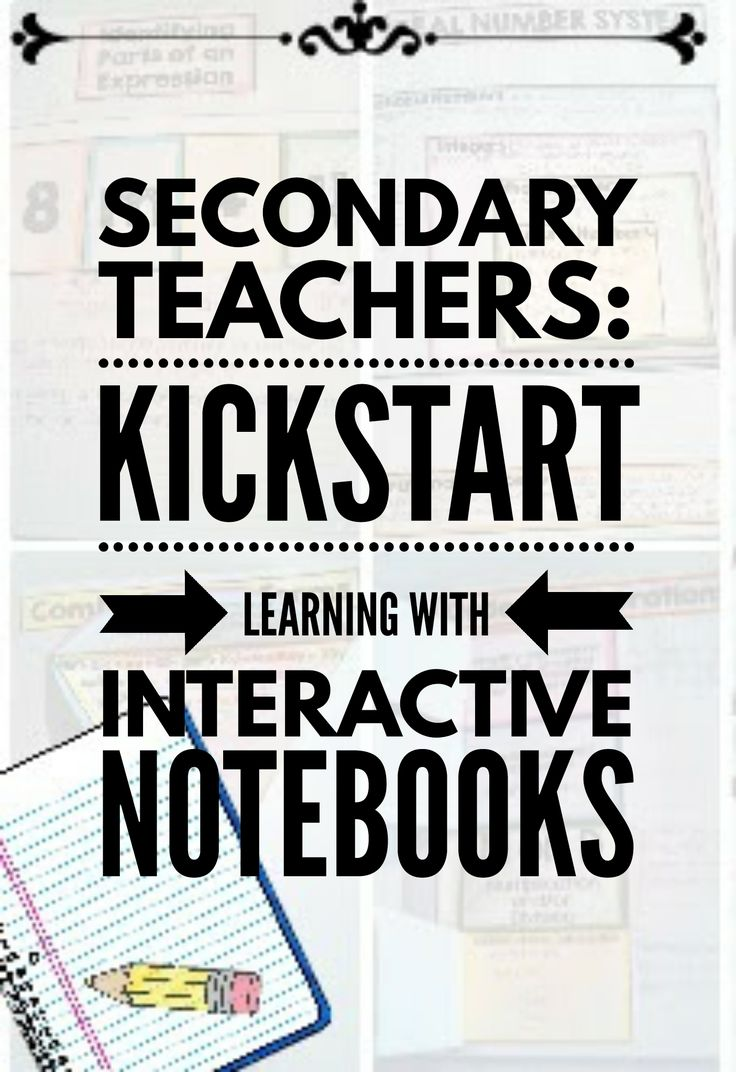 What are interactive notebooks and why you should use them with your secondary…  || Ideas and inspiration for teaching GCSE English || www.gcse-english.com ||
