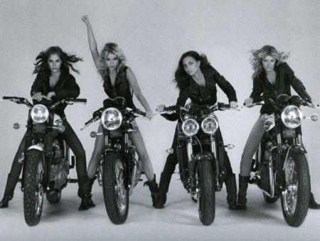 Triumph girls.