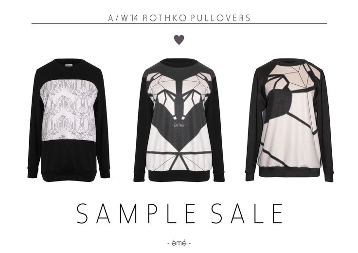 Rothko pullovers