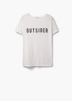 Message modal-blend t-shirt
