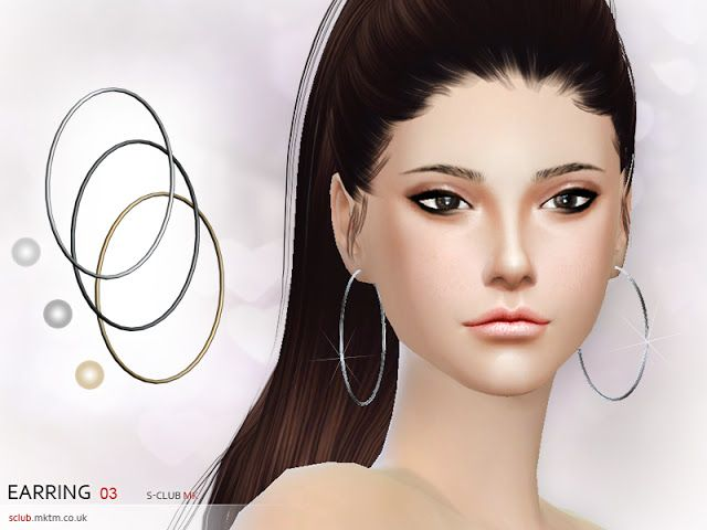 Sims 4 CC's - The Best: Earring by S-Club