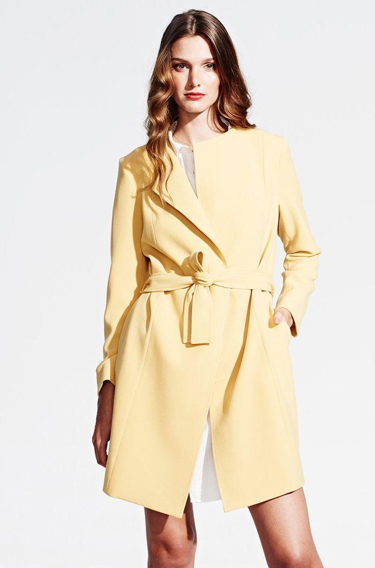 Gelber Sommermantel von KALA Fashion