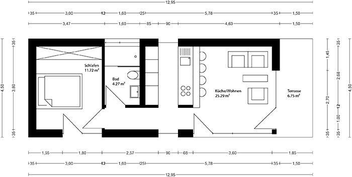 22 besten pfmtech1 bilder auf pinterest kleine h user for Mobiles wohnen im minihaus