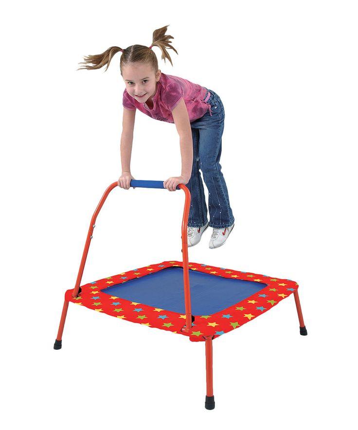 Look at this #zulilyfind! Folding Trampoline by Galt Toys #zulilyfinds