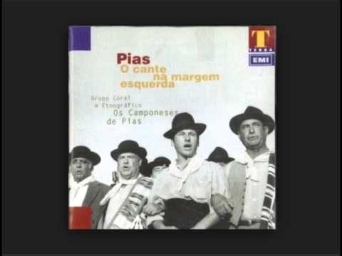 """Grupo coral e etnográfico """"Os Camponeses de Pias"""" disco """"O cante na marg..."""