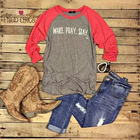 Cute country girl look!