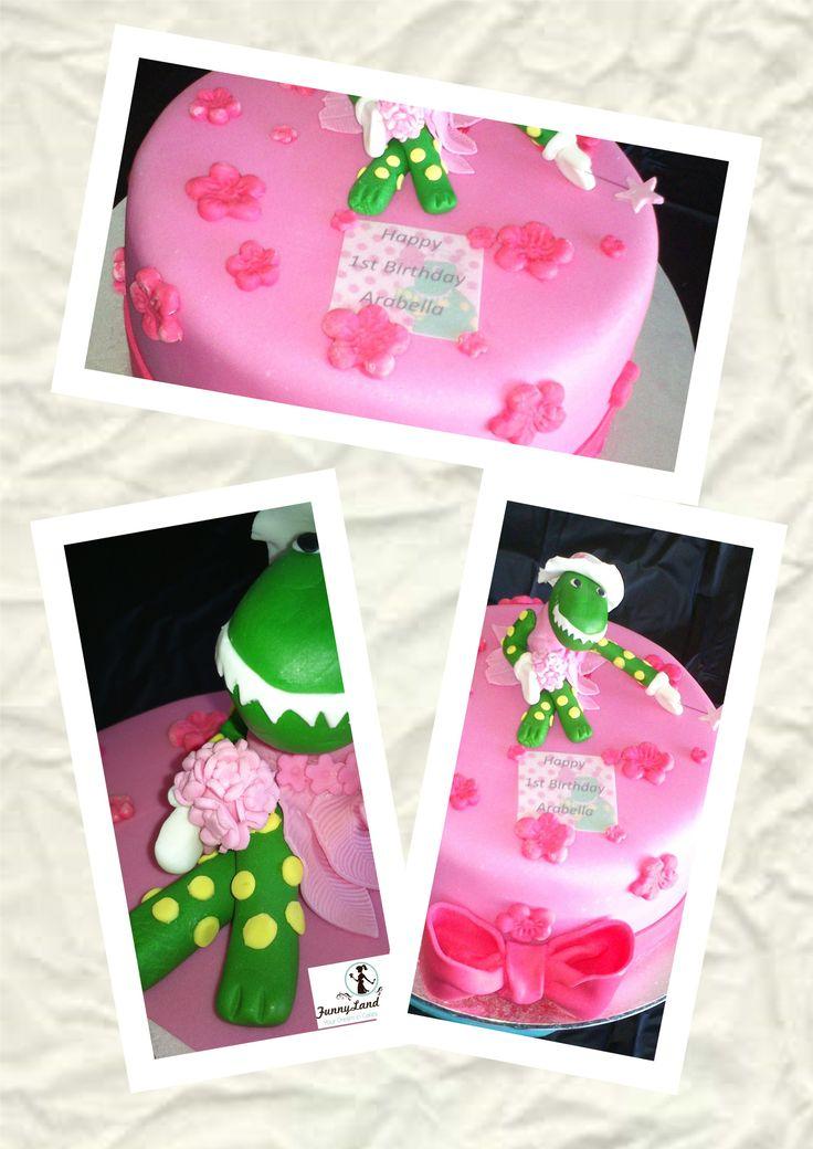 Arabella's Dorothy the Dinosaur Cake