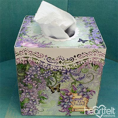 Heartfelt Creations - Fabulous Facial Tissues Project