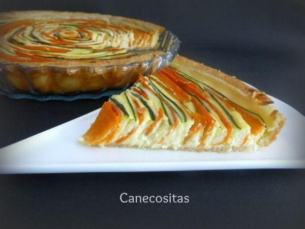 Tarta de zanahoria y calabacín 3 thermomix