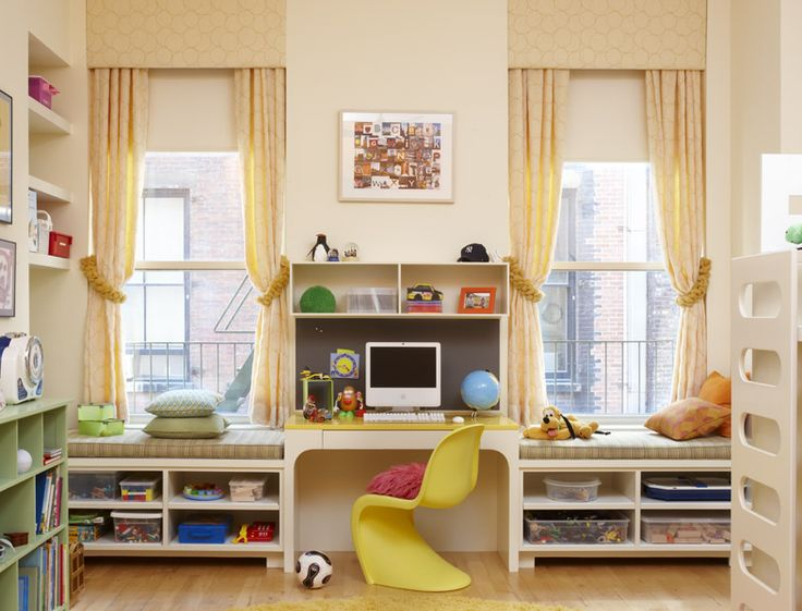 Tribeca Regency by CWB Architects#Repin By:Pinterest++ for iPad#Decor Ideas, Windows Benches, Cwb Architects, Windows Seats, Tribeca Regency, Kids Room, Kid Rooms, Desks, Window Seats