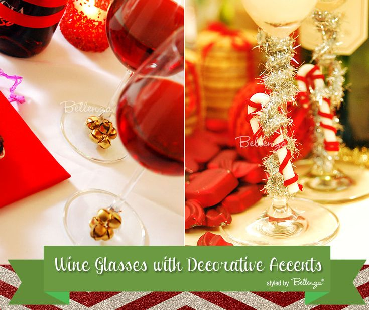 Tips on How to Decorate Wine Bottles and Drinks for the Holidays