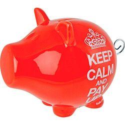 Cofre Porquinho Keep Calm