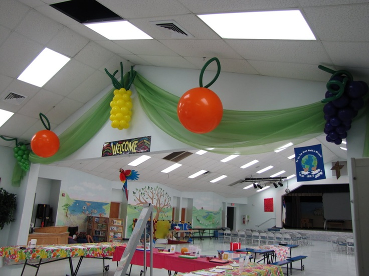 Party People Celebration Company - Special Event Decor Custom Balloon decor and Fabric Designs: Fruit of the Spirit