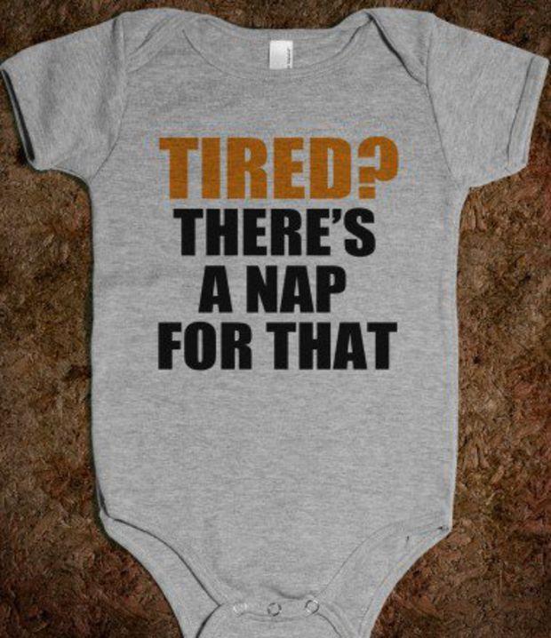 Tired? - Baby Onsie  - Underline Designs