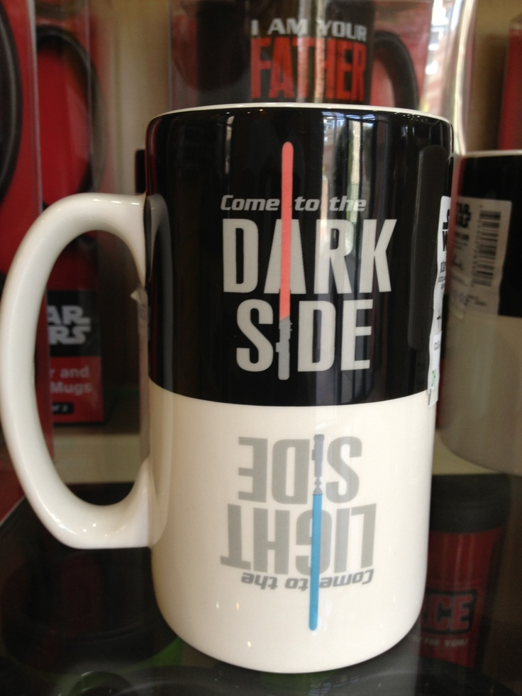 "Do you like your coffee on the ""Dark side"" or do you"