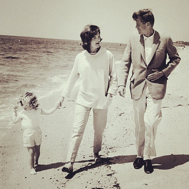 """We are tied to the ocean. And when we go back to the sea, whether it is to sail or to watch - we are going back from whence we came."" -John F. KennedyJackie Kennedy, Kennedy Families, Jfk, At The Beach, Style Icons, The Kennedy, American Royalty, People, Camelot"