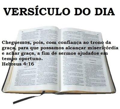 REFLEXÃO: HEBREUS 4:16