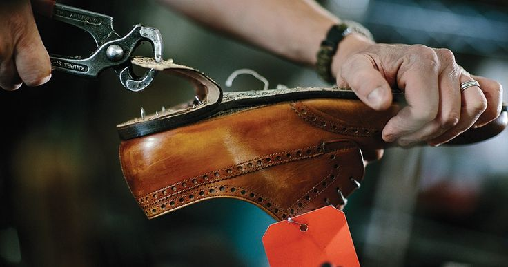 """Buying shoes or preserving the old ones, there's only one place to go in Raleigh! :: from Our State Magazine, """"Saving Soles at Man Mur Shoe Shop"""""""