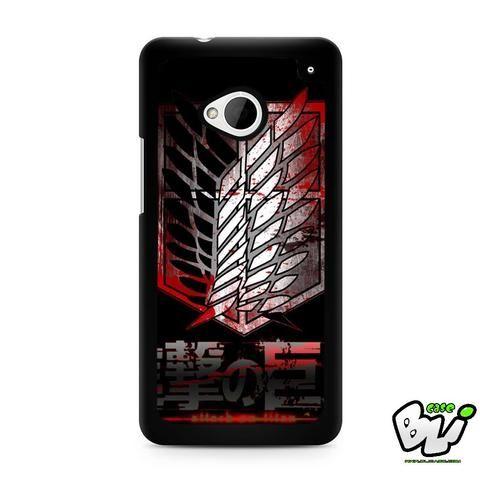 Attack On Titan Military Blood HTC G21,HTC ONE X,HTC ONE S,HTC M7,M8,M8 Mini,M9,M9 Plus,HTC Desire Case
