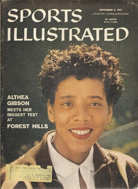Althea Gibson broke the color barrier to become the first African American woman to compete on the world tennis tour