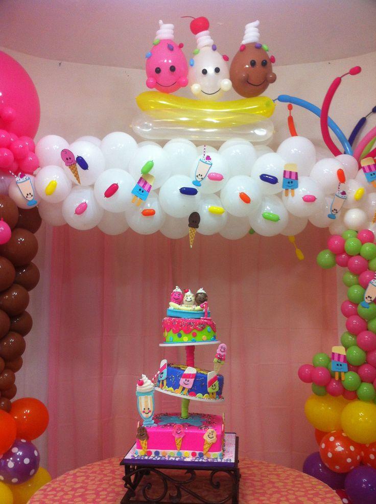 1000 images about globos candyland on pinterest for Decoracion con globos precios