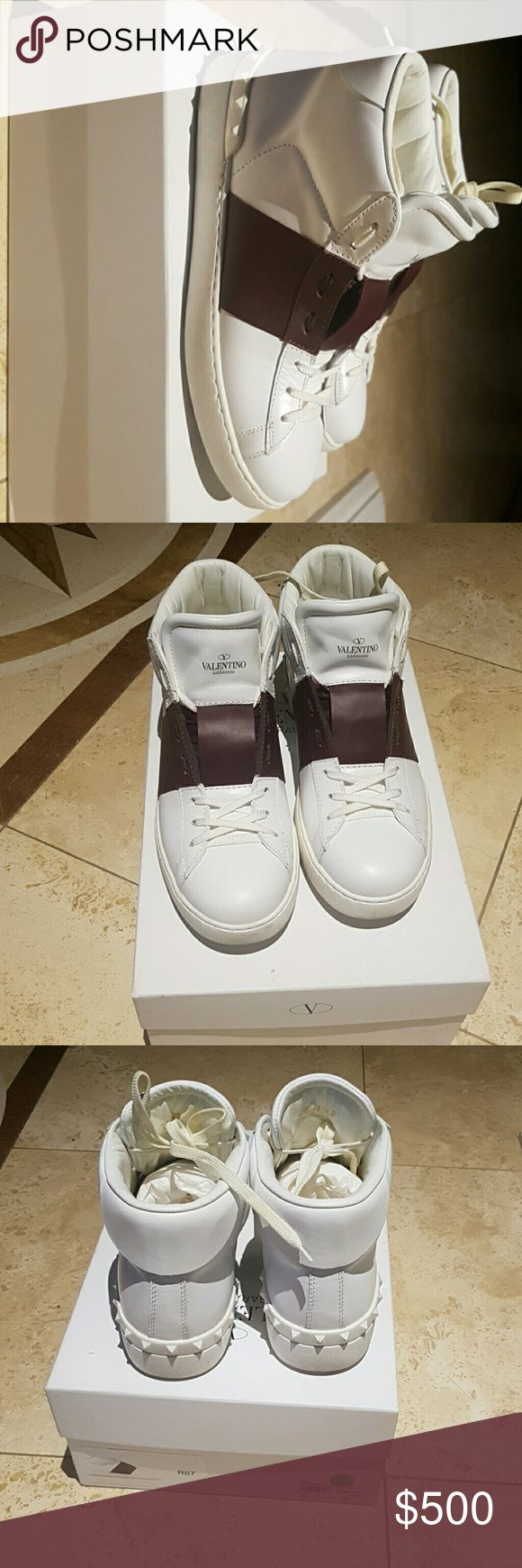 Valentino High Top It was too big for me Valentino Garavani Shoes Sneakers