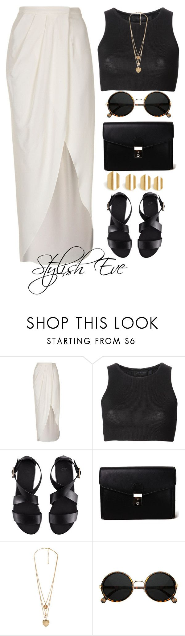 """aml"" by stylisheve ❤ liked on Polyvore featuring Boutique, Calvin Klein Collection, H&M, Akira, Forever 21 and DailyLook"