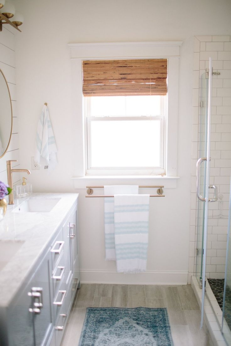 606 best bathroom inspiration images on pinterest bathroom simple stylings gave her master bathroom the designer treatment on a budget see the entire