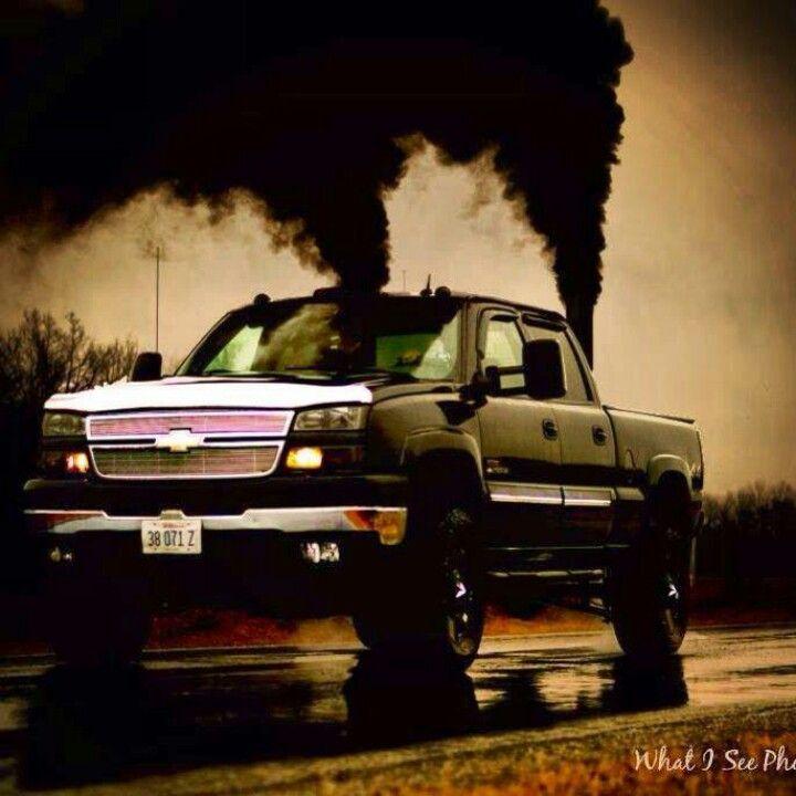 black smoke rolling