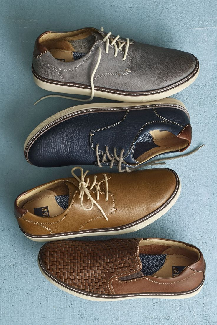 Easy Does It: Johnston & Murphy's casual classics you'll wear all summer long.