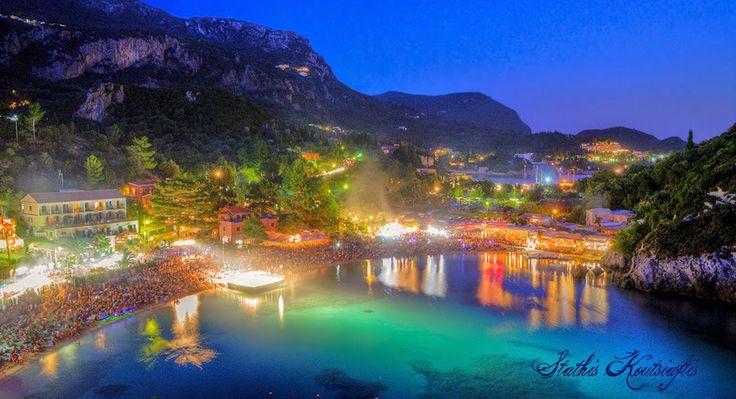 Varkarola festival, Paleokastritsa, Corfu, Greece