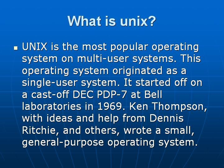 Unix Faqs #unix #interview #questions